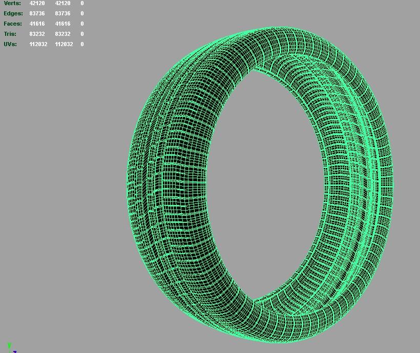 tire pirelli pzero rosso 3d model 3ds fbx c4d lwo ma mb hrc xsi obj 128829