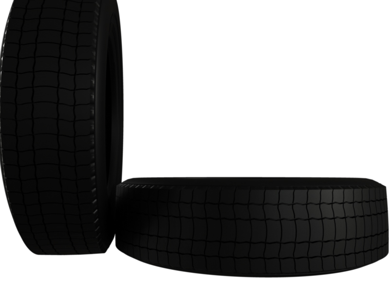 truck car tire 3d model 3ds fbx c4d lwo ma mb hrc xsi obj 128913