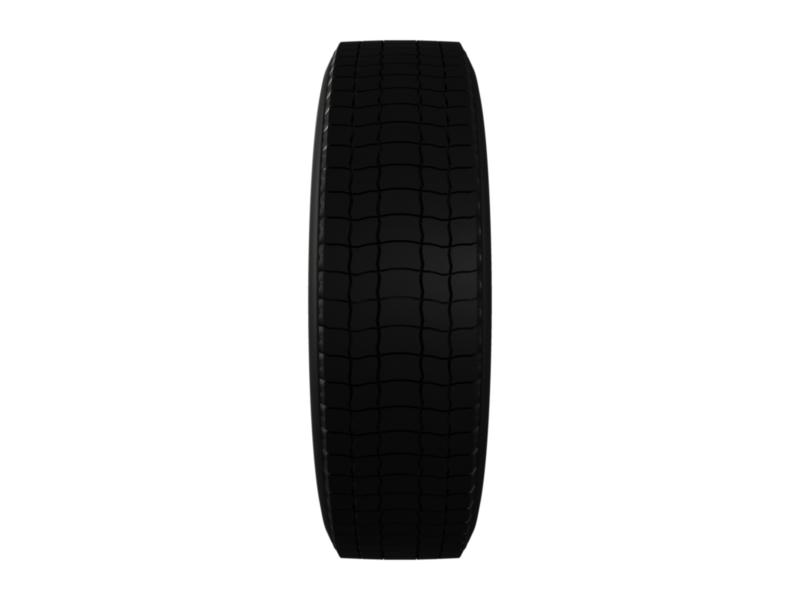 truck car tire 3d model 3ds fbx c4d lwo ma mb hrc xsi obj 128915