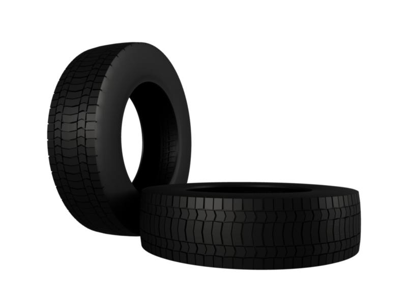 truck tire 3d model 3ds fbx c4d lwo ma mb hrc xsi obj 128938