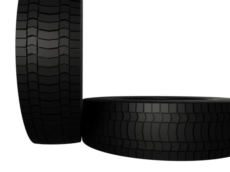 truck tire 3d model 3ds fbx c4d lwo ma mb hrc xsi obj 128939