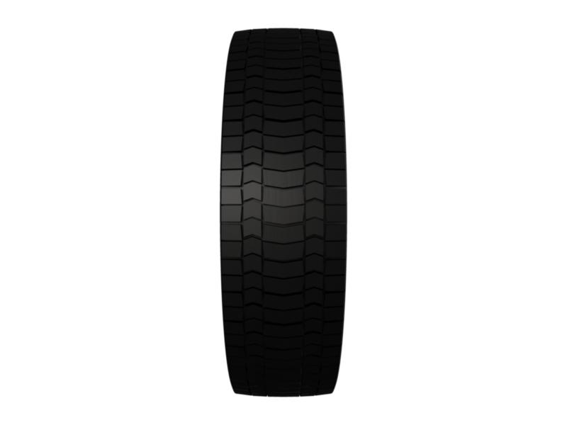 truck tire 3d model 3ds fbx c4d lwo ma mb hrc xsi obj 128941