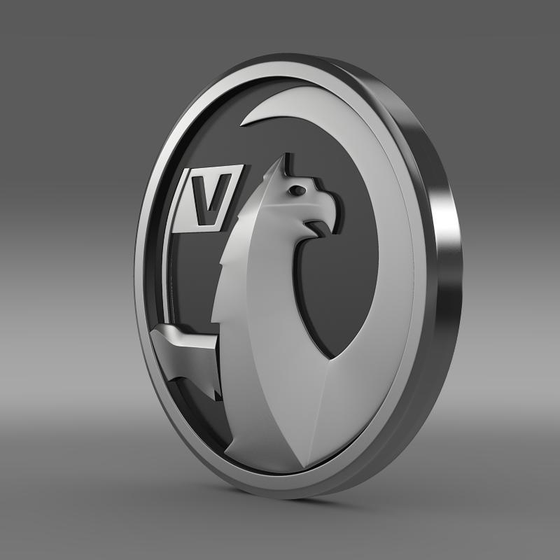 vauxhall logo 3d model 3ds max fbx c4d lwo ma mb hrc xsi obj 121812