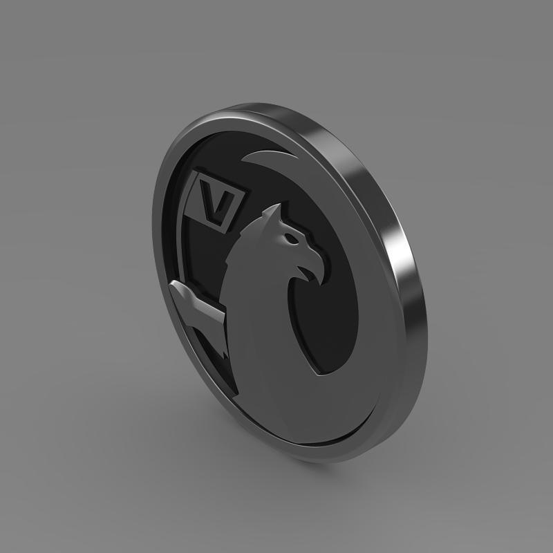 vauxhall logo 3d model 3ds max fbx c4d lwo ma mb hrc xsi obj 121815