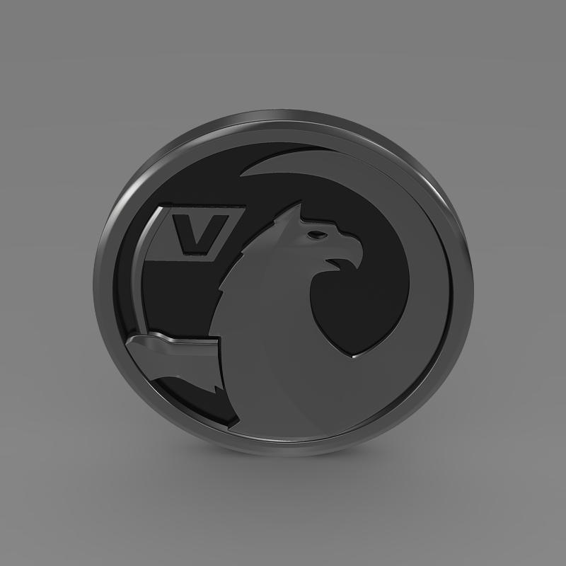 vauxhall logo 3d model 3ds max fbx c4d lwo ma mb hrc xsi obj 121816
