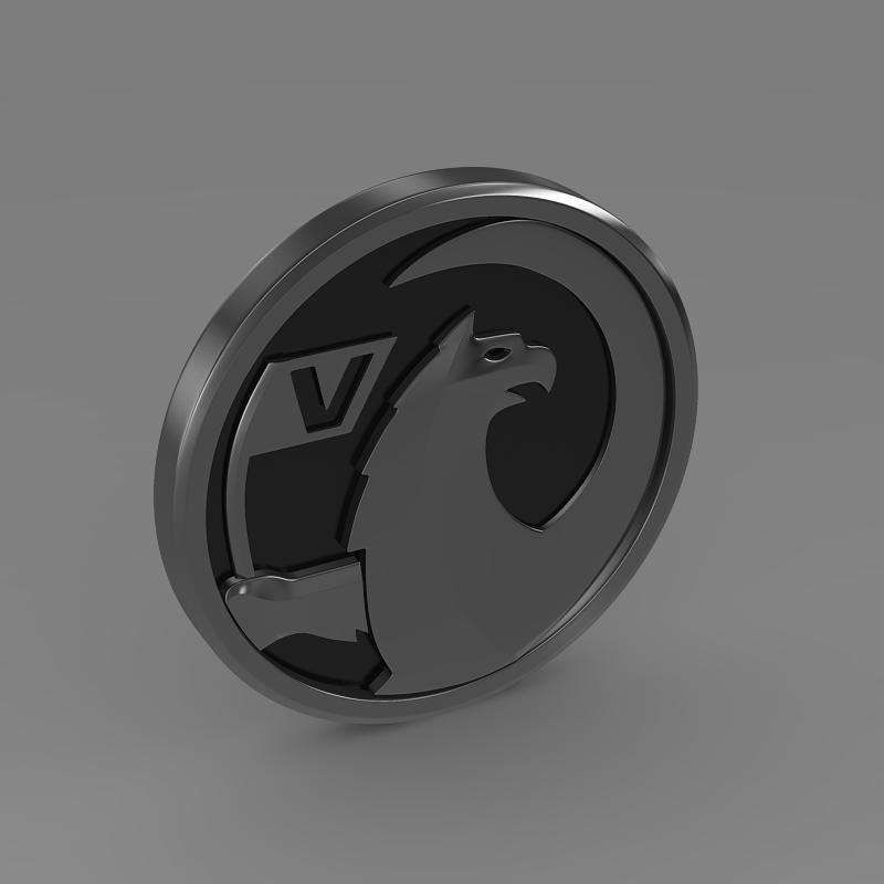vauxhall logo 3d model 3ds max fbx c4d lwo ma mb hrc xsi obj 121817