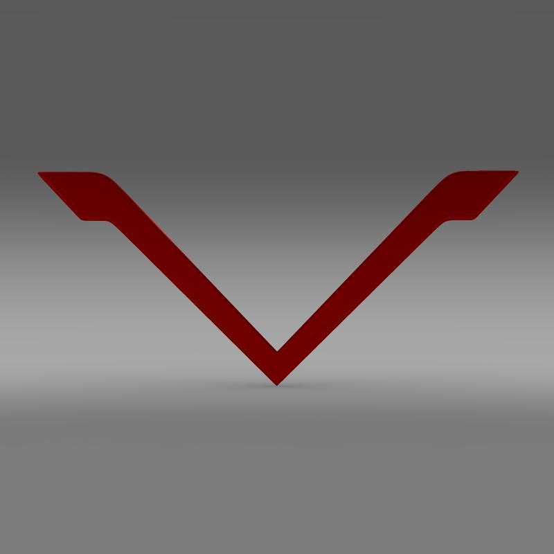 venturi logo 3d model 3ds max fbx c4d lwo ma mb hrc xsi obj 152175