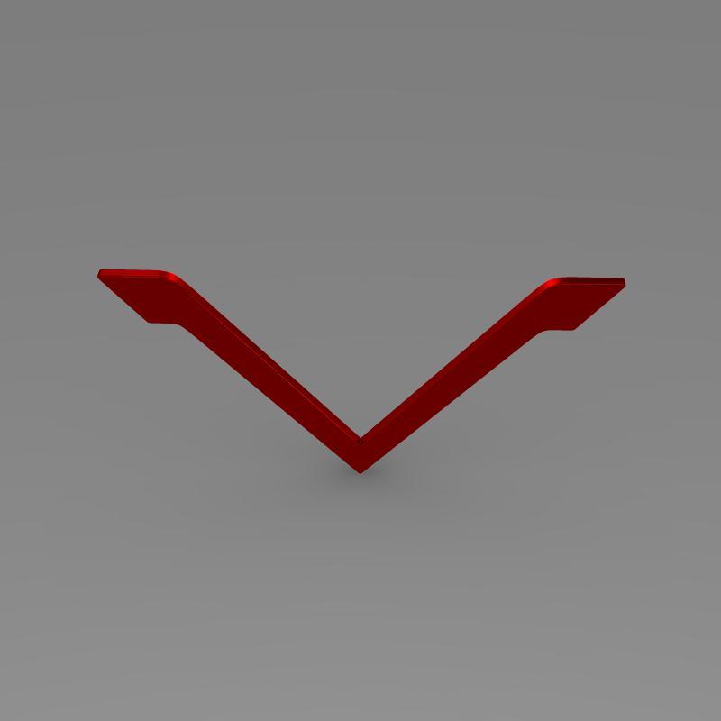 venturi logo 3d model 3ds max fbx c4d lwo ma mb hrc xsi obj 152178