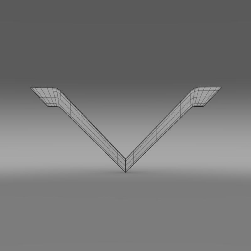 venturi logo 3d model 3ds max fbx c4d lwo ma mb hrc xsi obj 152180