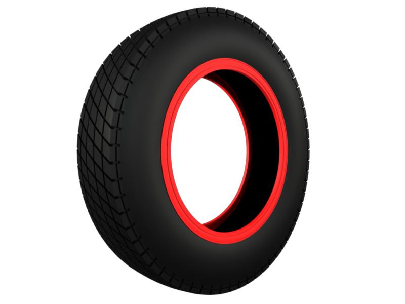 vintage classic sport tire 3d model 3ds fbx c4d lwo hrc xsi 128949