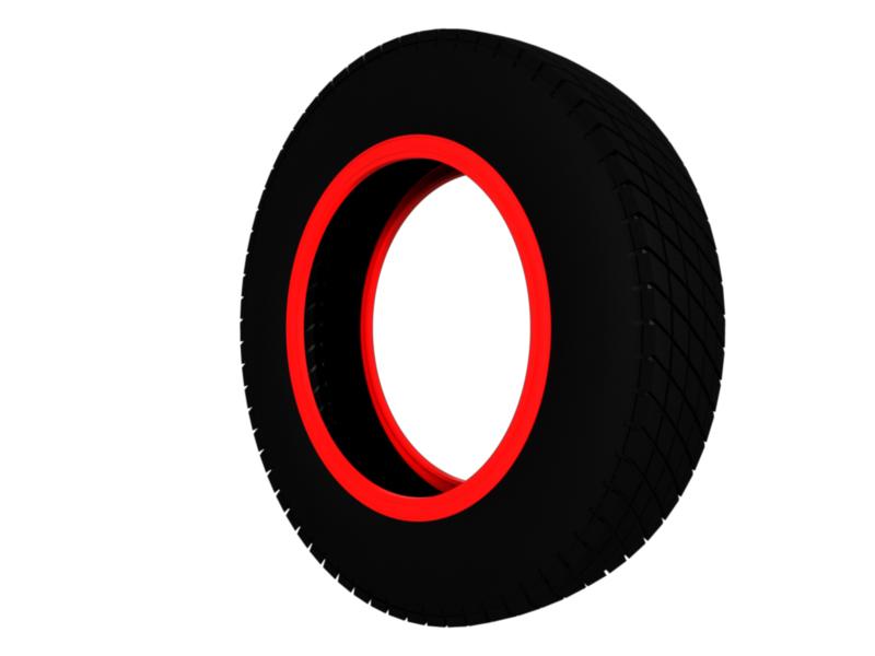 vintage classic sport tire 3d model 3ds fbx c4d lwo hrc xsi 128951