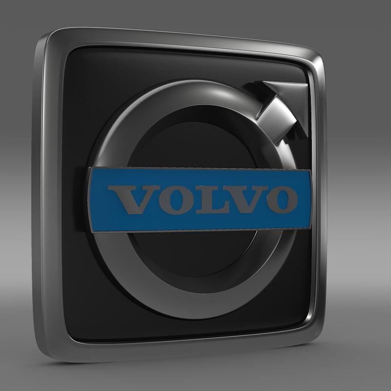 volvo truck logo 3d model 3ds max fbx c4d lwo ma mb hrc xsi obj 152190