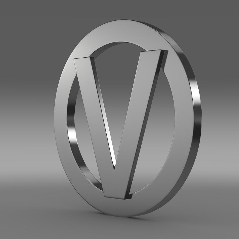vortex logo 3d modelis 3ds max fbx c4d lwo ma mb hrc xsi obj 152544