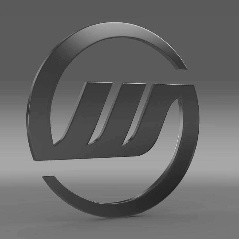 williams logo 3d model 3ds max fbx c4d lwo ma mb hrc xsi obj 153003