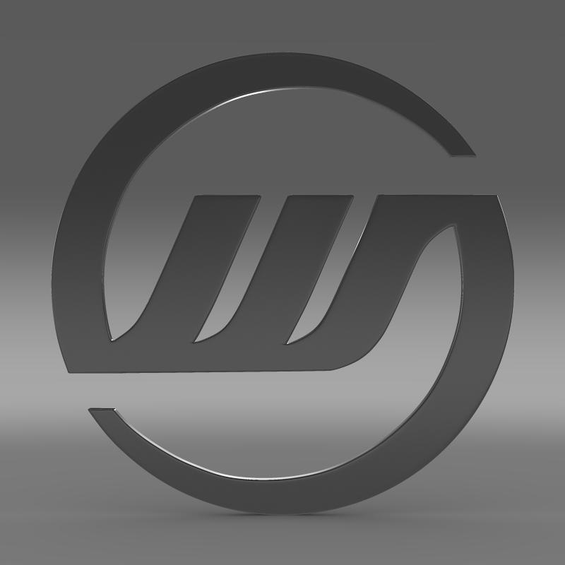 williams logo 3d model 3ds max fbx c4d lwo ma mb hrc xsi obj 153004