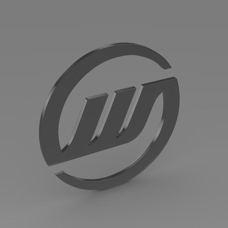 williams logo 3d model 3ds max fbx c4d lwo ma mb hrc xsi obj 153005