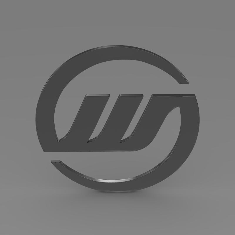 williams logo 3d model 3ds max fbx c4d lwo ma mb hrc xsi obj 153006