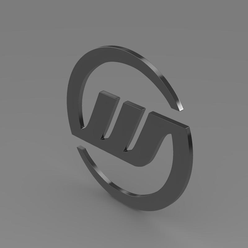 williams logo 3d model 3ds max fbx c4d lwo ma mb hrc xsi obj 153007