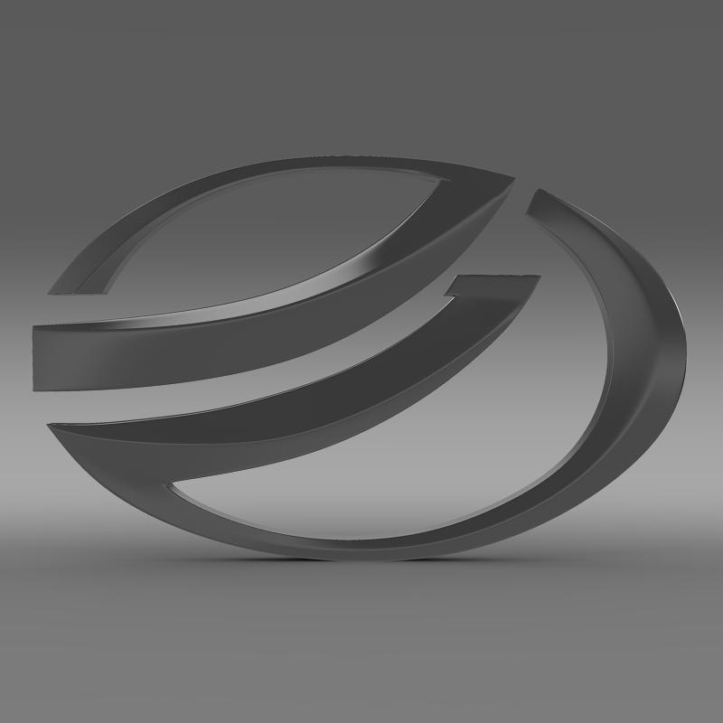 zaz logo 3d modelis 3ds max fbx c4d lwo ma mb hrc xsi obj 117934