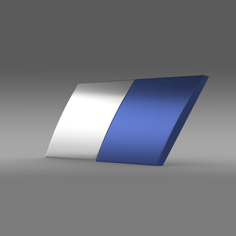 zender logo 3d model 3ds max fbx c4d lwo ma mb hrc xsi obj 117950