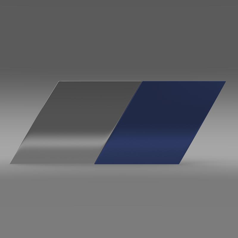 zender logo 3d model 3ds max fbx c4d lwo ma mb hrc xsi obj 117951