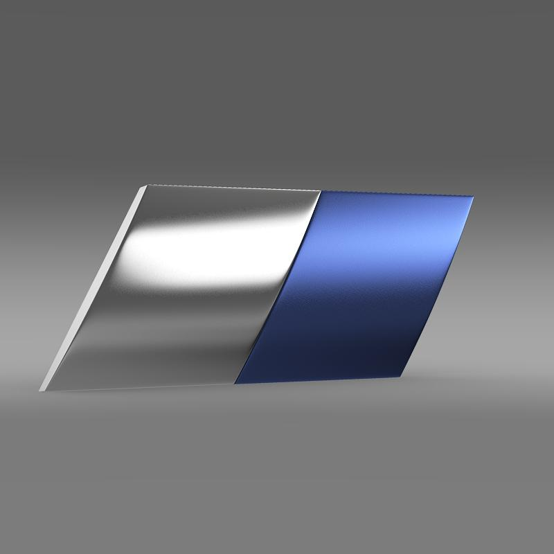zender logo 3d model 3ds max fbx c4d lwo ma mb hrc xsi obj 117952