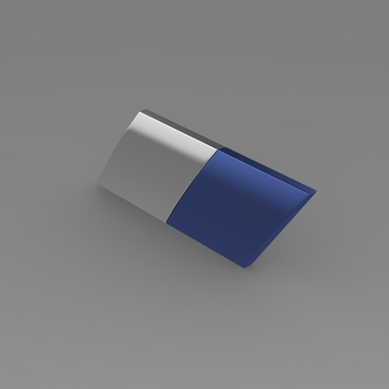 zender logo 3d model 3ds max fbx c4d lwo ma mb hrc xsi obj 117953