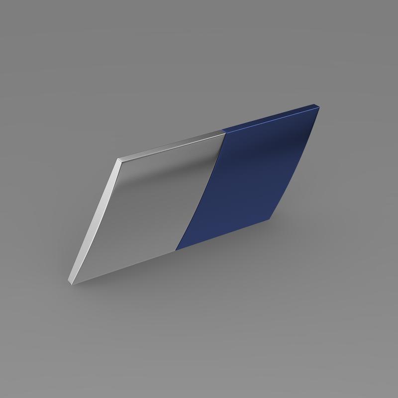 zender logo 3d model 3ds max fbx c4d lwo ma mb hrc xsi obj 117955