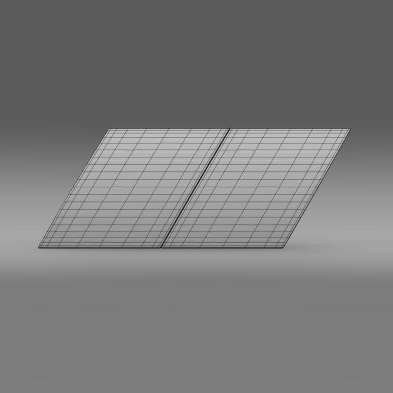 zender logo 3d model 3ds max fbx c4d lwo ma mb hrc xsi obj 117956