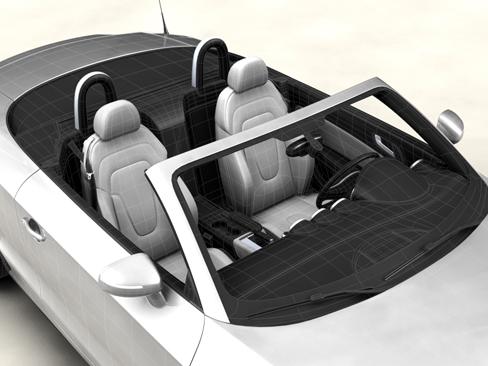 audi tt roadster 2007 3d model 3ds max obj 113788