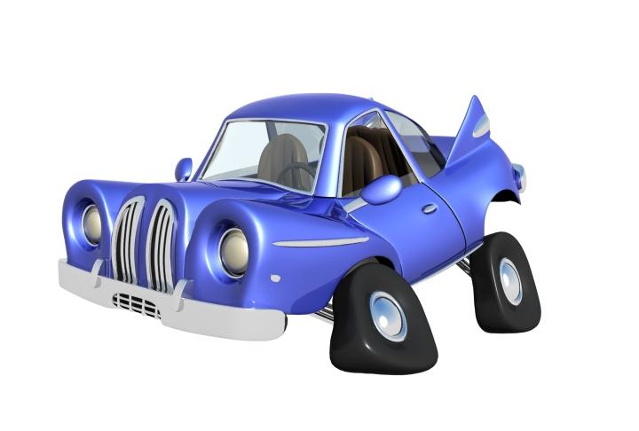 cartoon car 3d model max 114652
