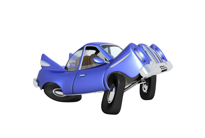 cartoon car 3d model max 114653