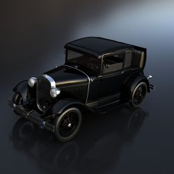 Ford A Coupe ( 153.97KB jpg by S.E )