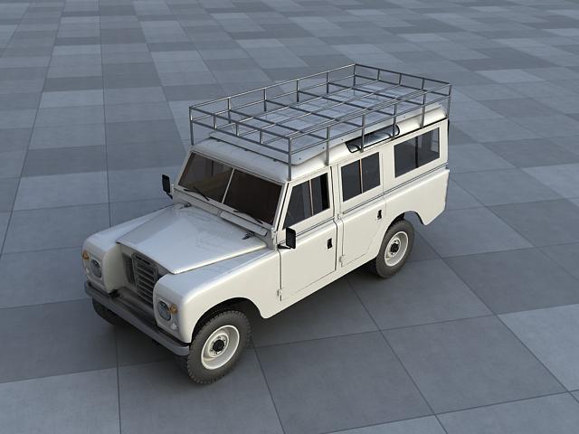 land rover 109 3d model max obj 117086