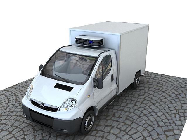 opel vivaro 3d model max 117840