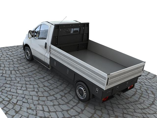 opel vivaro pickup 3d model max 117639