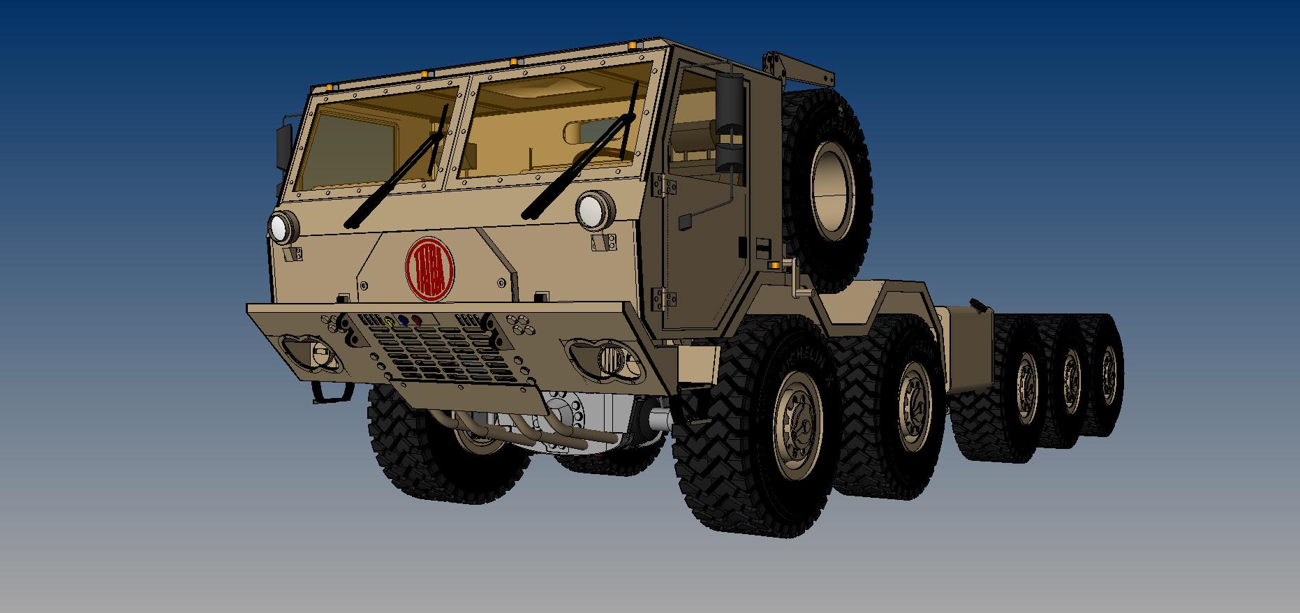 tatra 815-7 10×10 chasis 3d model 3dm 115320
