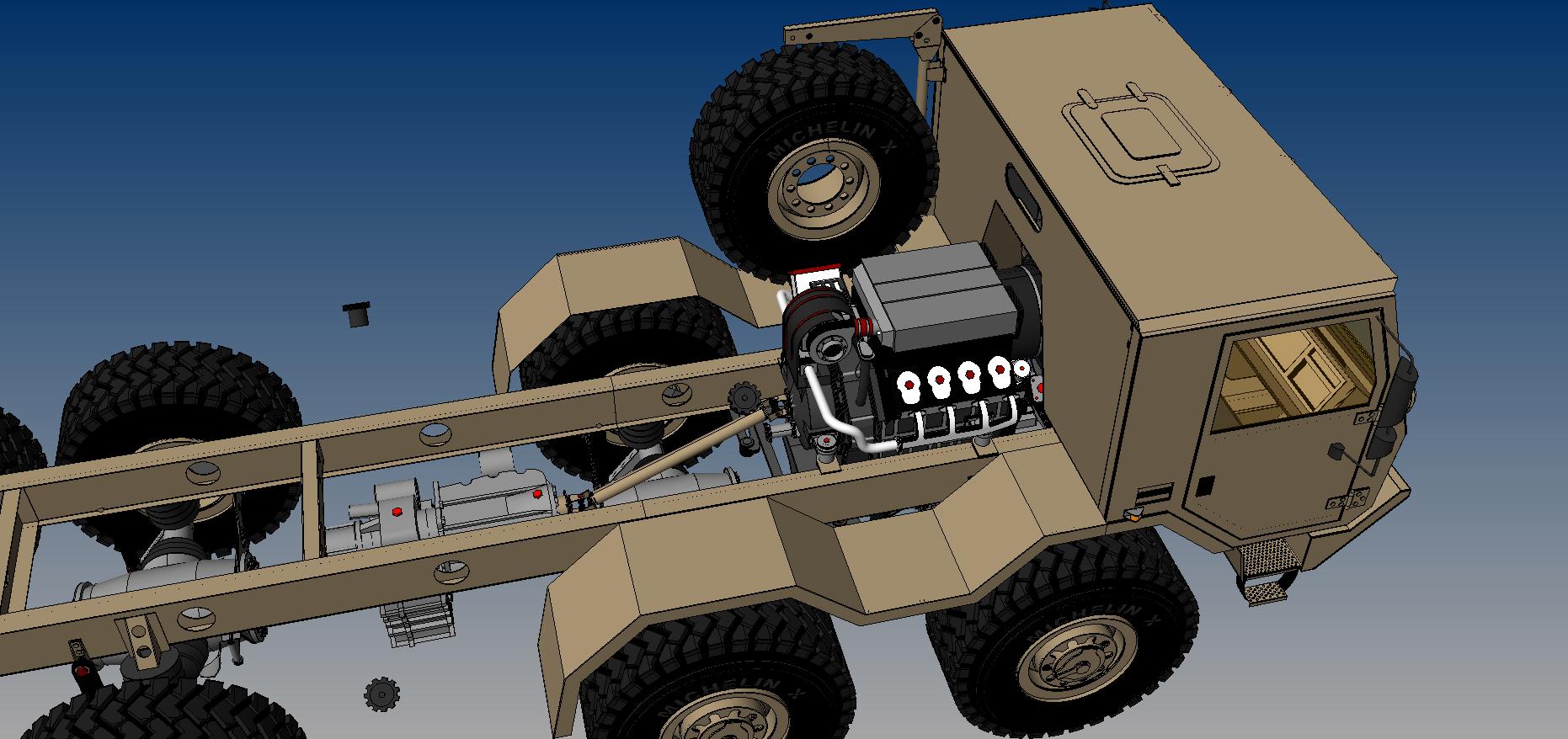 tatra 815-7 10×10 chasis 3d model 3dm 115325