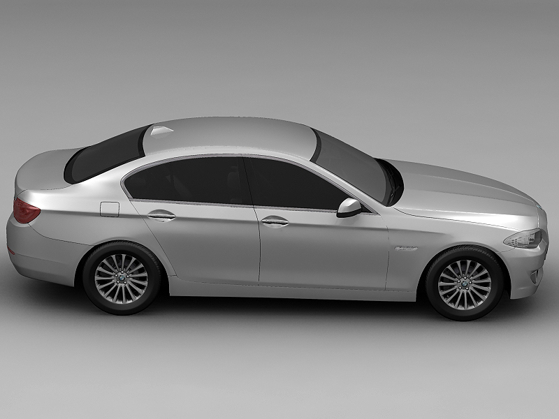2010 bmw 5 series 3d model 3ds max fbx c4d lwo hrc xsi obj 161691