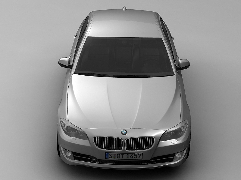2010 bmw 5 series 3d model 3ds max fbx c4d lwo hrc xsi obj 161693