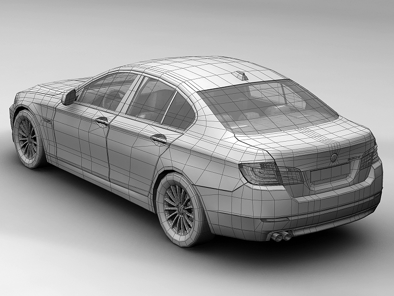 2010 bmw 5 series 3d model 3ds max fbx c4d lwo hrc xsi obj 161696
