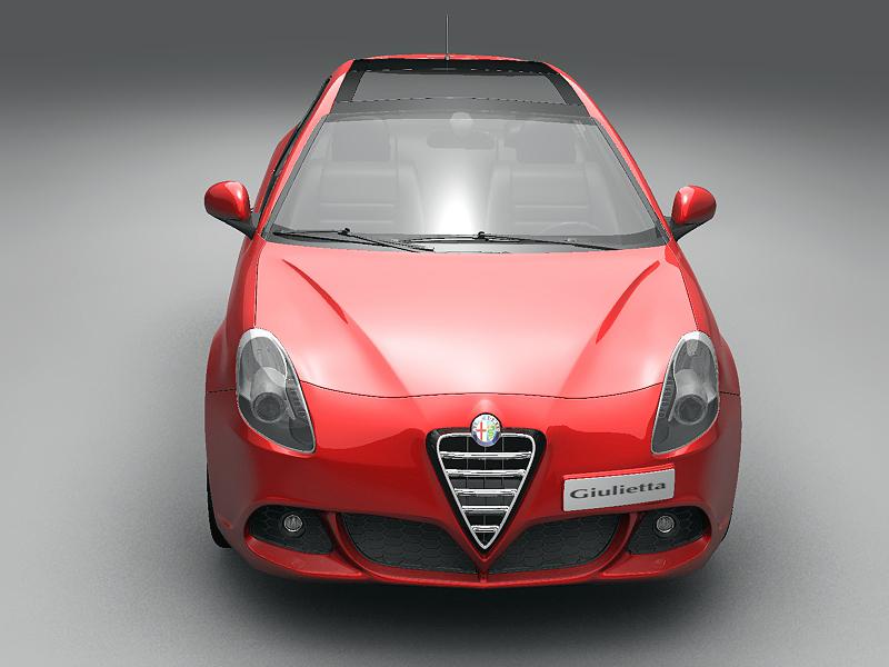 2011 alfa romeo giulietta 3d загвар 3ds max fbx c4d lwo hrc xsi obj 161724