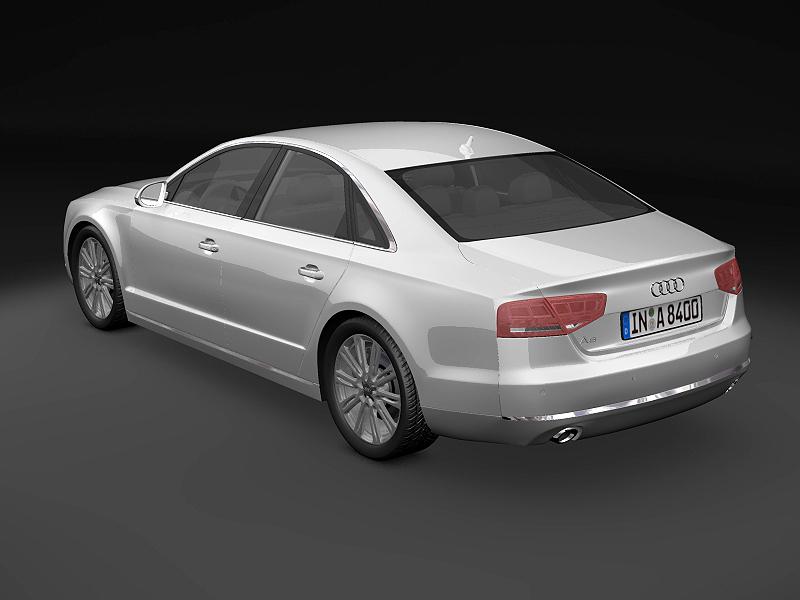 2011 audi a8 3d modeli 3ds max fbx c4d lwo hrc xsi obj 161709