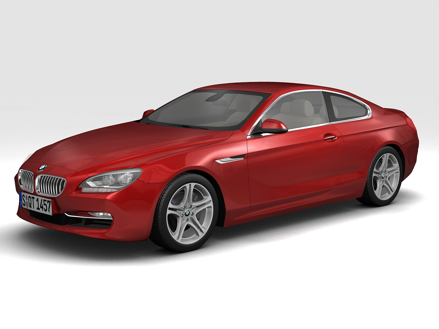 2011 bmw 6 series coupe 3d model 3ds max fbx c4d lwo hrc xsi obj 161697