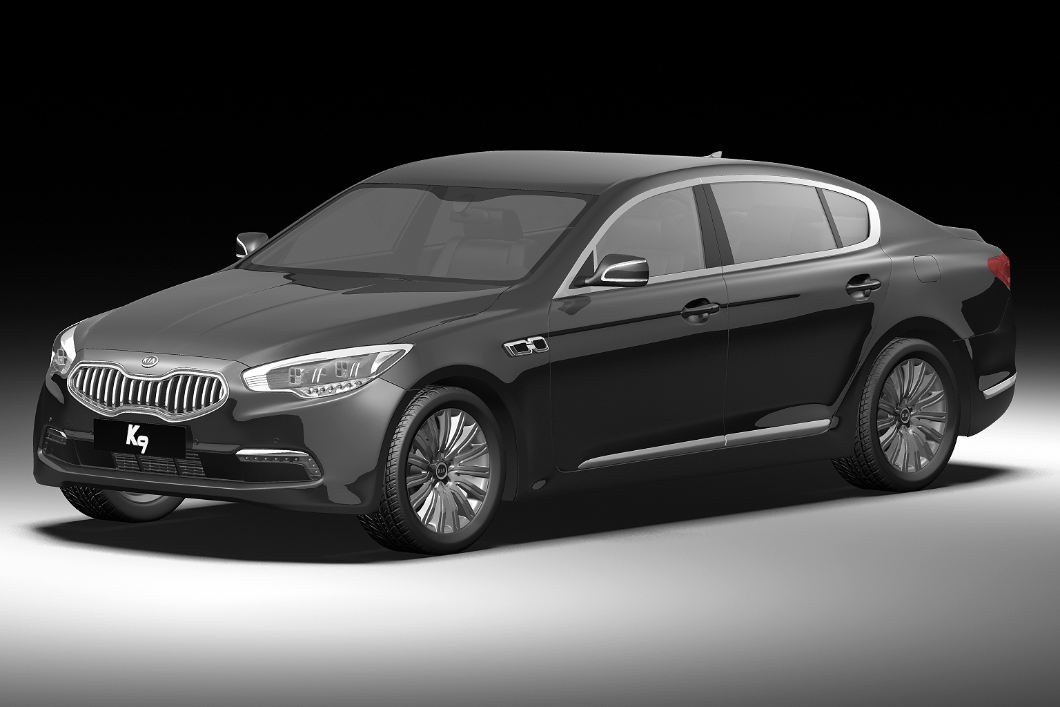 2012 kia k9 3d model 3ds max fbx c4d hr hr xsi