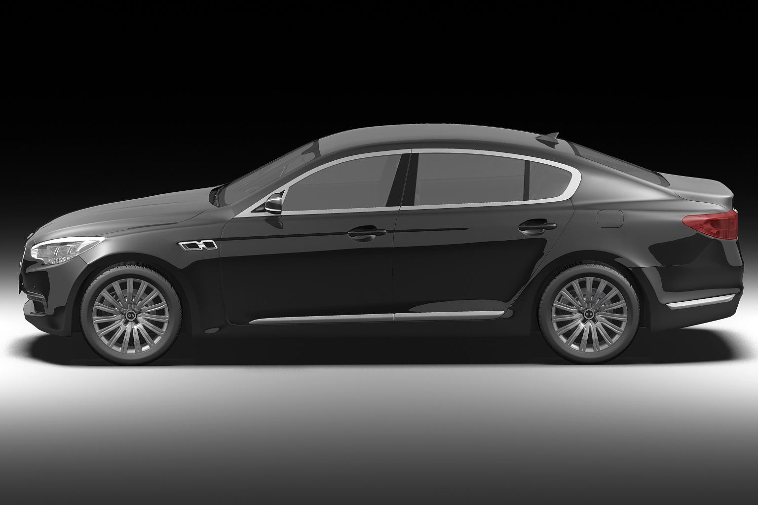 2012 kia k9 3d model 3ds max fbx c4d lwo hrc xsi obj 136299