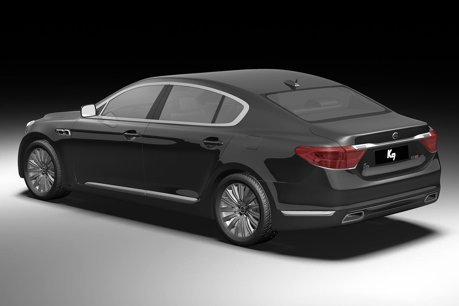 2012 kia k9 3d model 3ds max fbx c4d lwo hrc xsi obj 136300