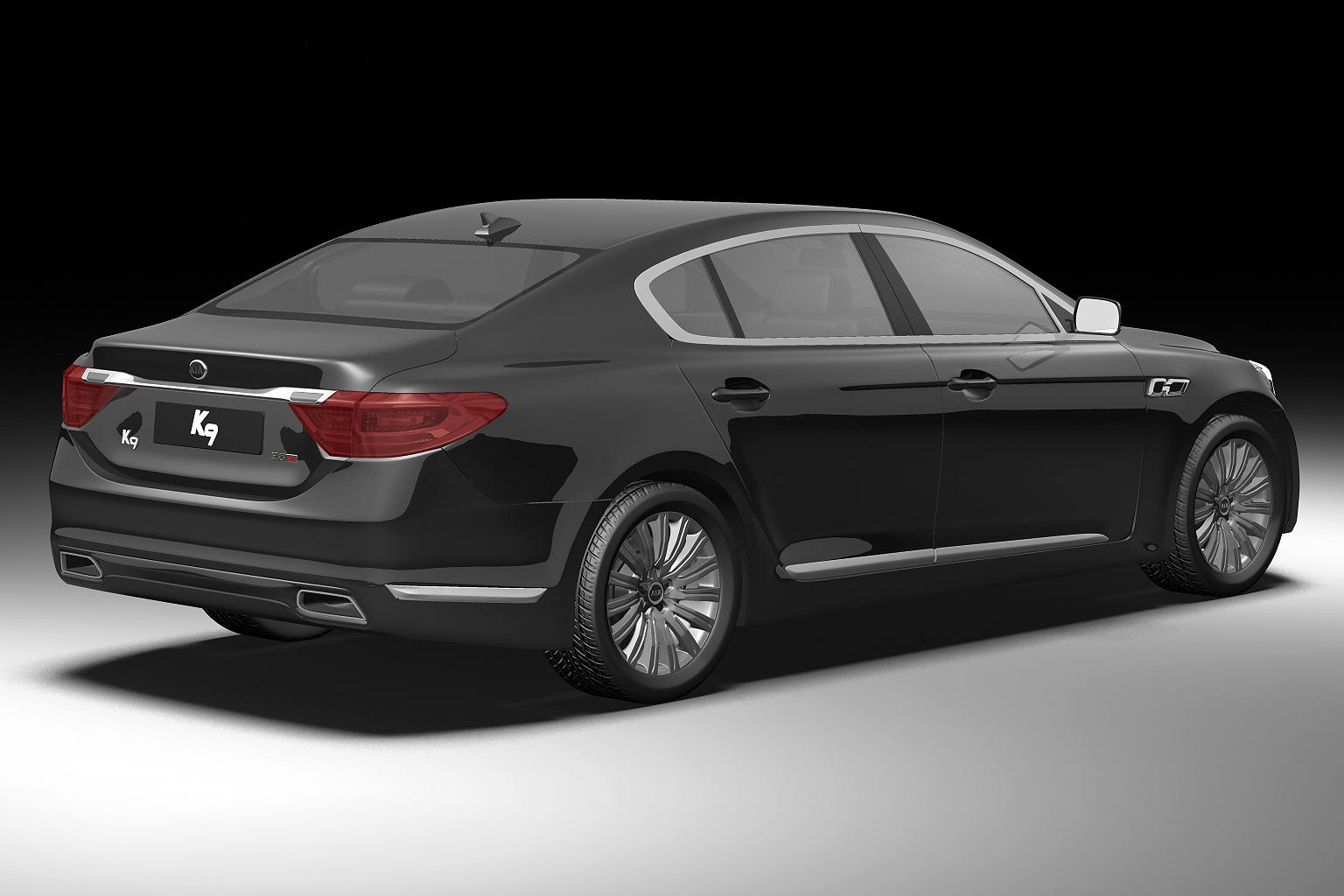 2012 kia k9 3d model 3ds max fbx c4d lwo hrc xsi obj 136301