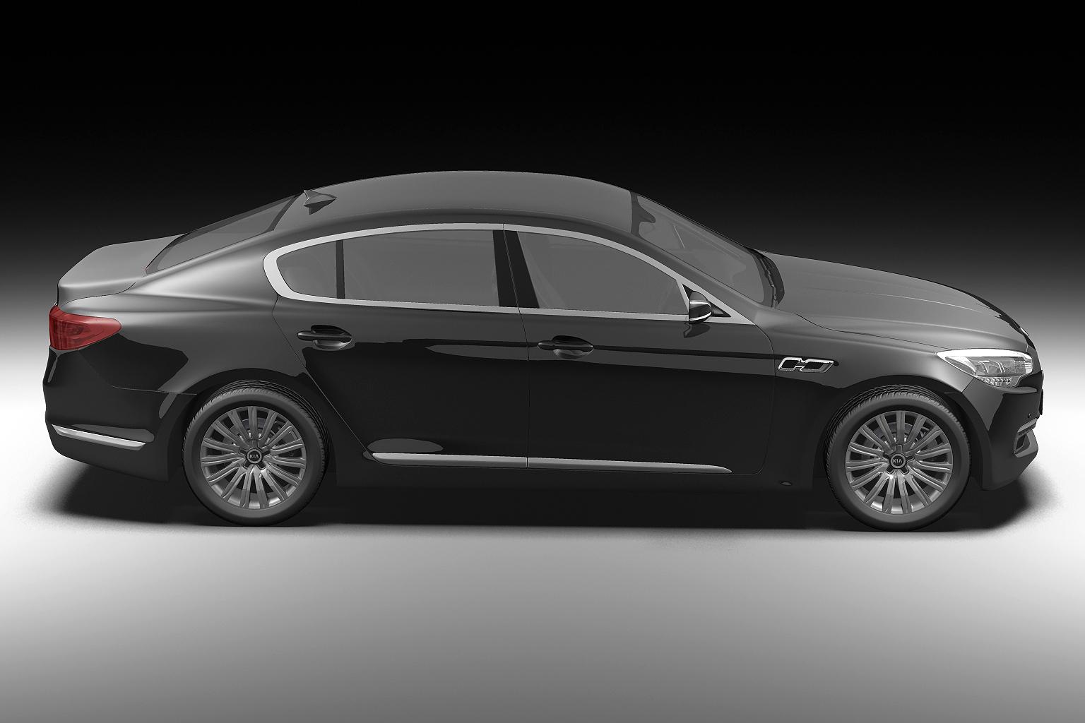 2012 kia k9 3d model 3ds max fbx c4d lwo hrc xsi obj 136302