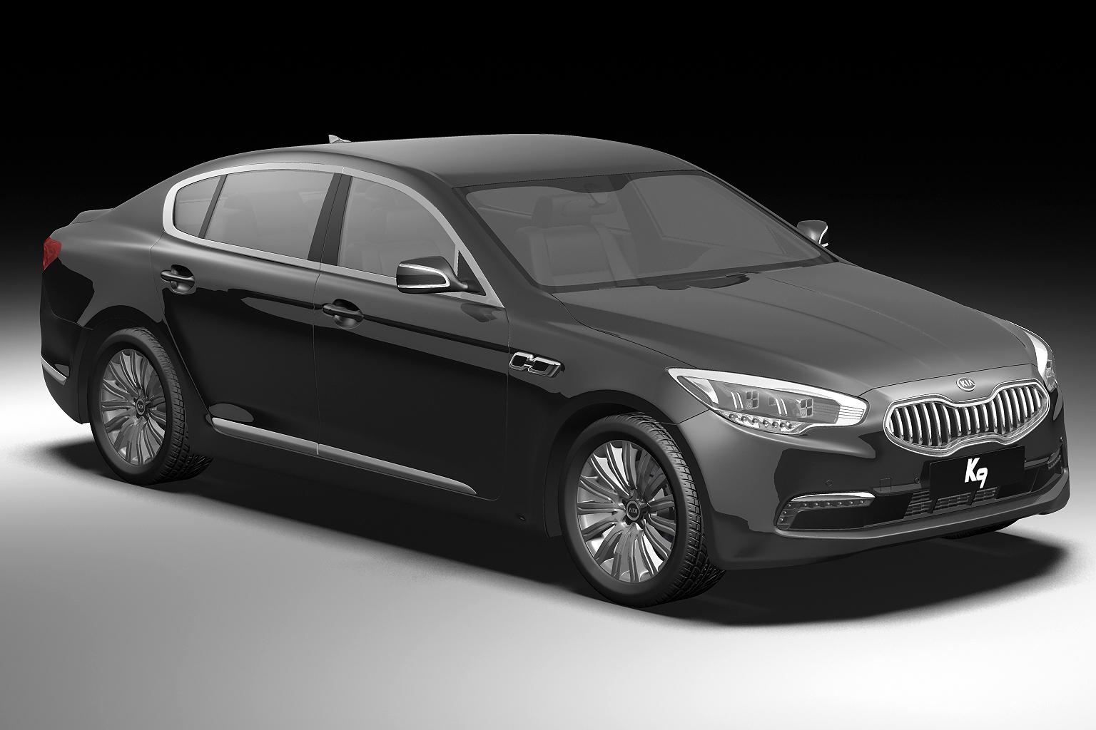 2012 kia k9 3d model 3ds max fbx c4d lwo hrc xsi obj 136303